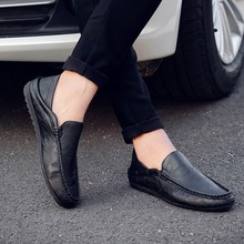 2019 spring and summer new business peas shoes mens one pedal lazy comfortable casual