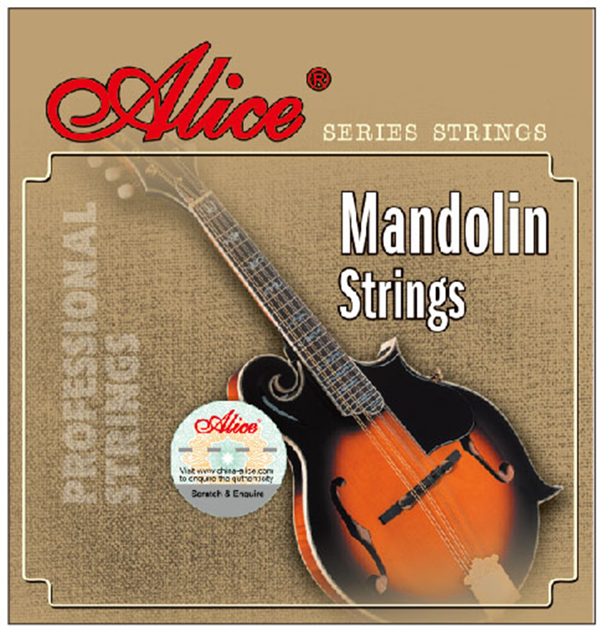 Mandolin Strings 0.011/0.040 inch Plated Steel 85/15 Bronze wound Alice AM05 3 sets alice aw466 light acoustic guitar strings plated high carbon steel