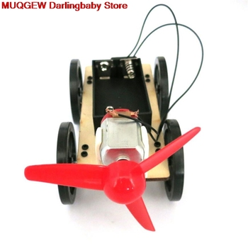 Mini Wind Powered DIY Car Kit