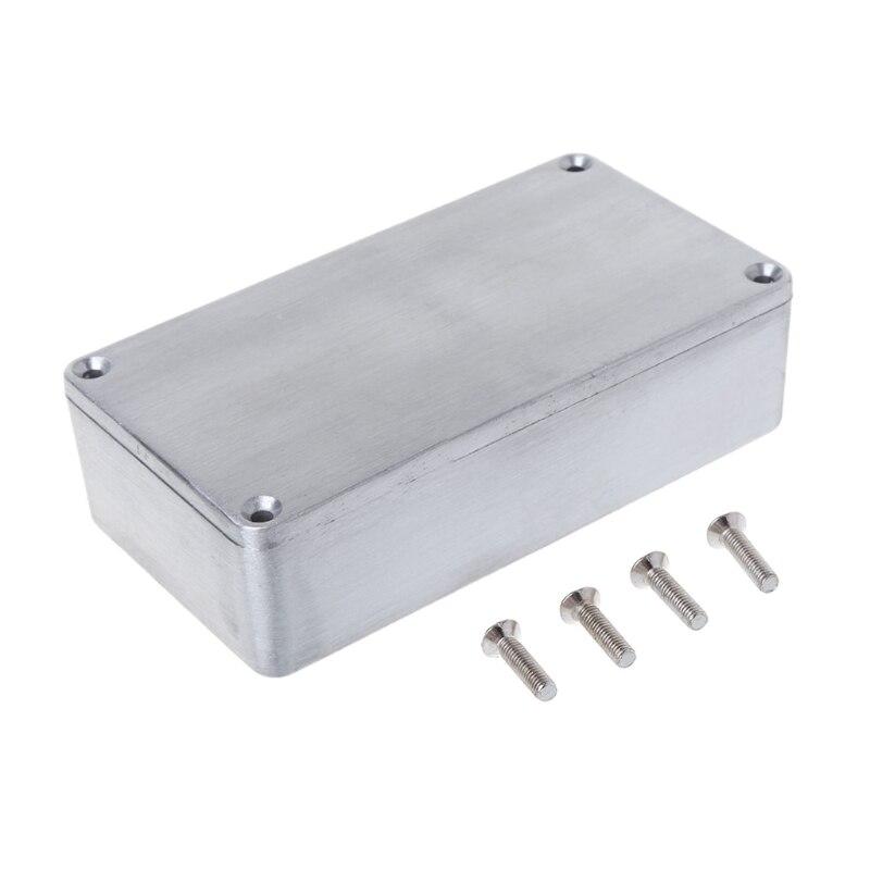 Effect Aluminum Box Metal Electrical Case Guitar Instrument Enclosure DIYEffect Aluminum Box Metal Electrical Case Guitar Instrument Enclosure DIY