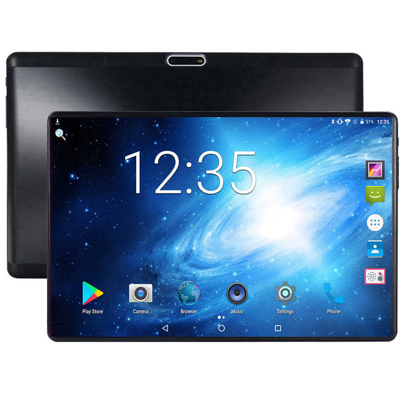 10 zoll 3G zelle tablet Quad core Android 9,0 GPS tabletten 10,1 1280*800 IPS 1,5 GB RAM 32GB ROM Dual SIM Karten Media Pad Youtube