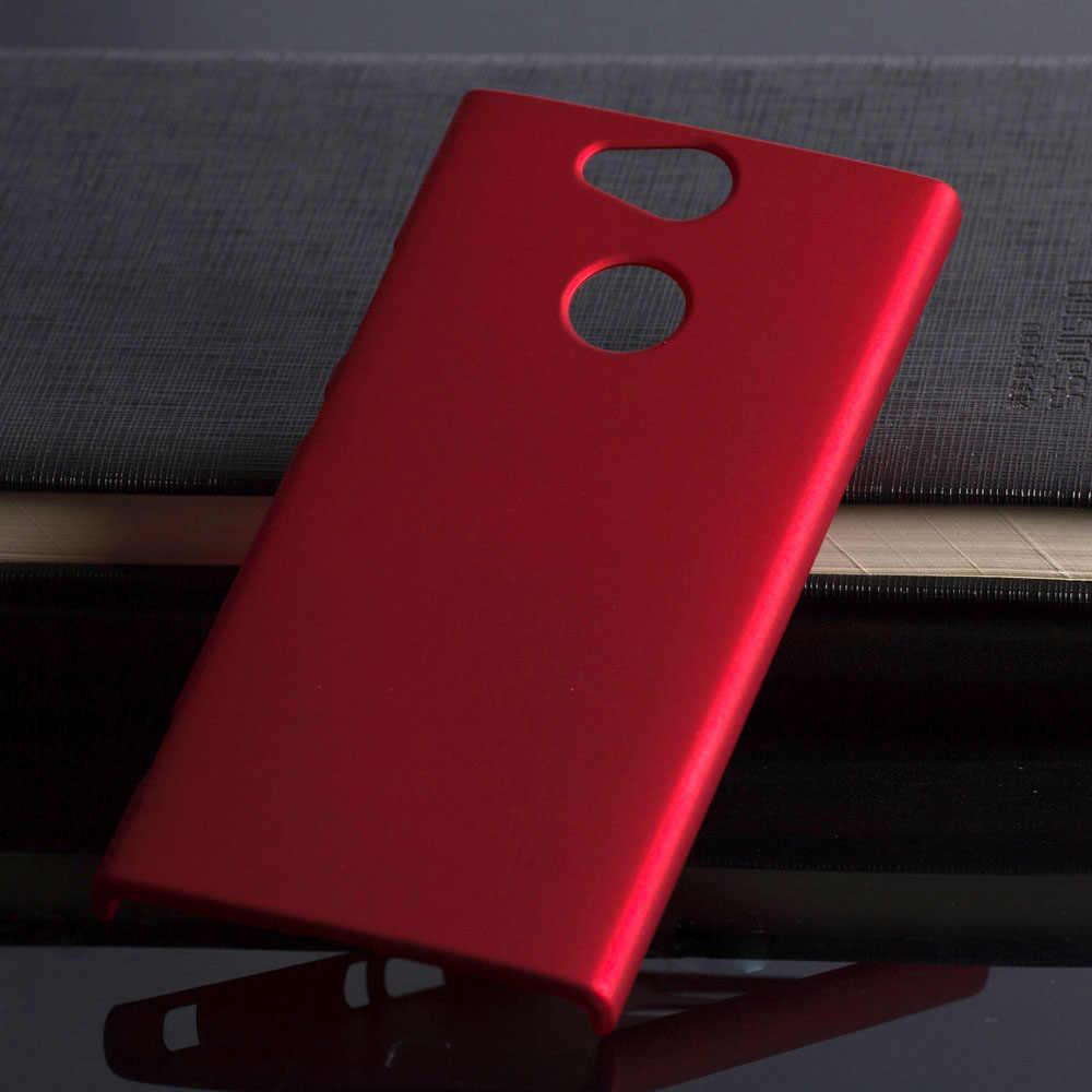 Coque en plastique 5.2For Sony Xperia Xa2 Coque pour Sony Xperia Xa2 Xa 2 Dual H4113 H4133 H3113 Coque arrière pour téléphone