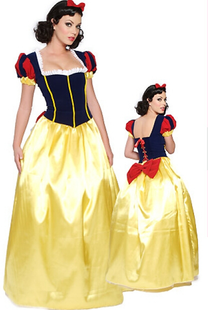 XXXXXL plus size Adult Snow White Princess New <font><b>Fancy</b></font> <font><b>Dress</b></font> <font><b>Costume</b></font> <font><b>Sexy</b></font> Ladies <font><b>costume</b></font> party <font><b>costume</b></font> hen party image