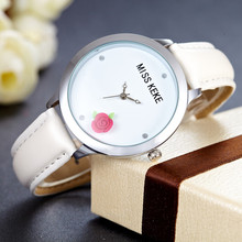 Miss Keke 3d Simple Floral Design Clay Mini World Women Watch Rose Montre Femme Relogio Feminino Ladies Wristwatches 14