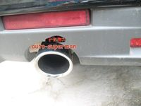 Tubo de punta de silenciador de escape cromado para Cadillac CTS 2008-2012