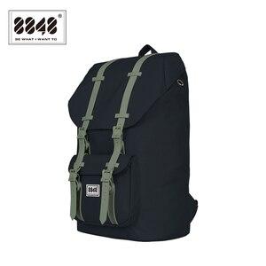 Image 3 - 8848 Brand Travel Men Backpack Waterproof Backpacks 20.6 L Large Capacity Resistant Computer Interlayer Polyester 111 006 008