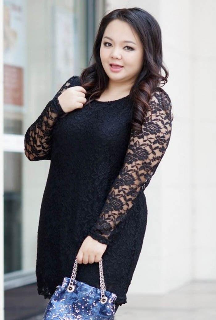2015 women big Size Lace Elegant Dress Female plus size 4XL ...