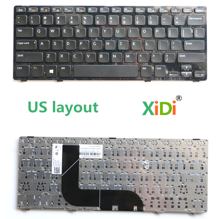 US Keyboard for DELL 14Z-5423 5323 V3360 P31G P35G Laptop