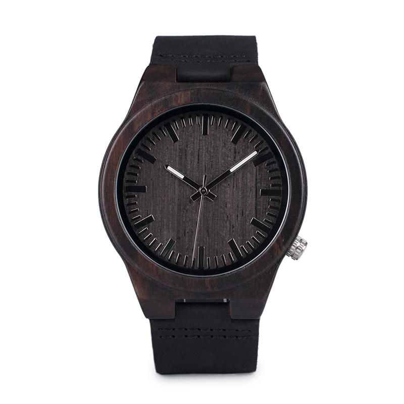 Zegarek drewniany Bobo Bird Dark B12 15