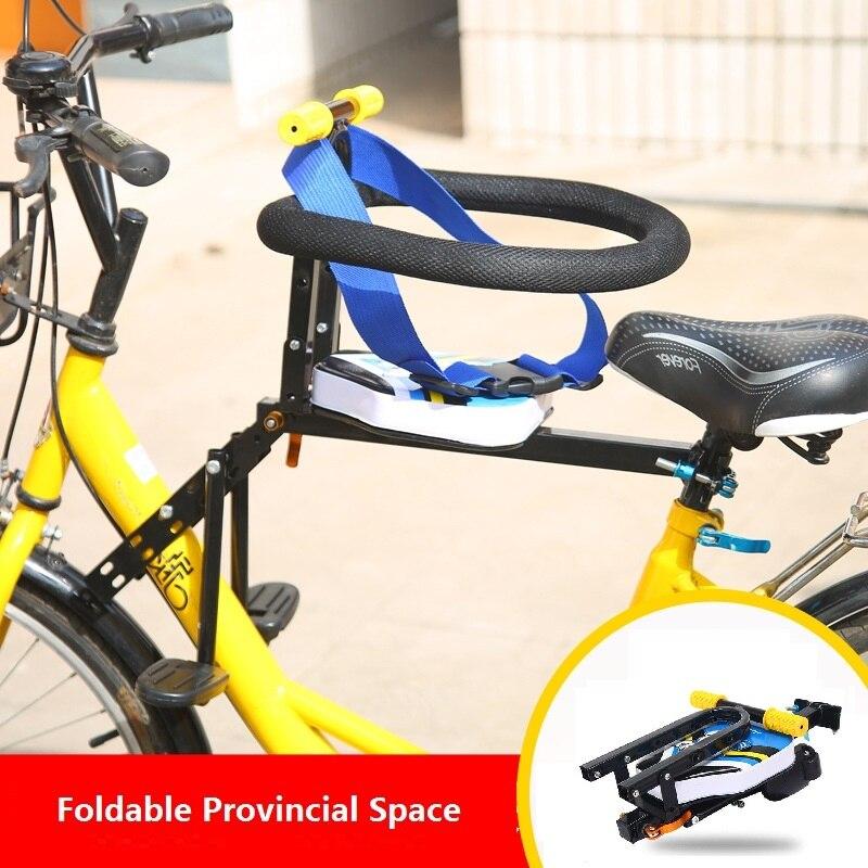 Portátil plegable niños seguridad ciclismo montaña eléctrica asiento carretera seguridad comodidad Sella Carbonio bici