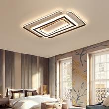 Luminaire Modern Led Ceiling Lights For Living Room Study Room Bedroom Home Dec AC85-265V lamparas de techo Ceiling Lamp dimming цена