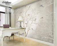 Custom Mural Wallpaper Mural Painting Of Flowers And Abstract Pictures 3 D Sitting Room Family 3
