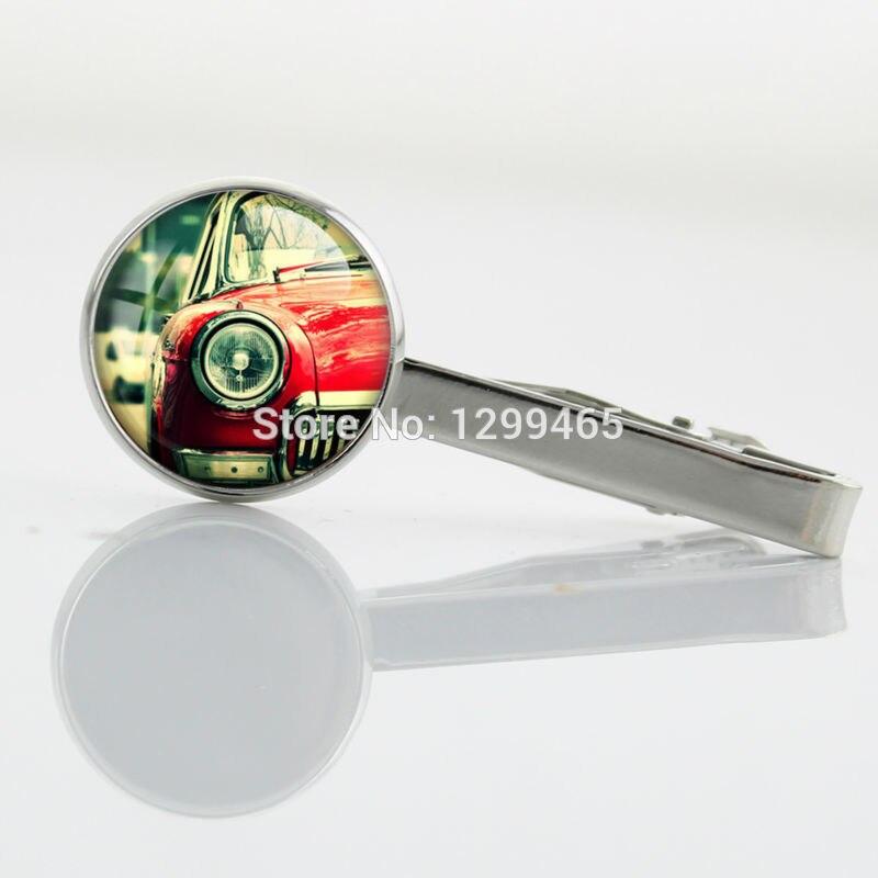 Supernatural accessories personality gift Tie clip Exquisite popular car Tie Pin Academy glass Men Necktie Tie Bar T 099