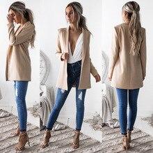 Blazer & Suits 2018 Spring Autumn Womens Blazers New Jackets for Women Suit European Style Slim Lapel Green Hot
