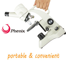 Promo offer Phenix Digital Microscope portable 1.3 mega pixels Monocular with LED light Square stage for school student laboratory observe