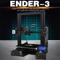 Ender 3 3D Pinter DIY комплект закаленное стекло/Съемная кровать большой размер печати Ender 3 Продолжение питания v слот Prusa i3 Creality 3D