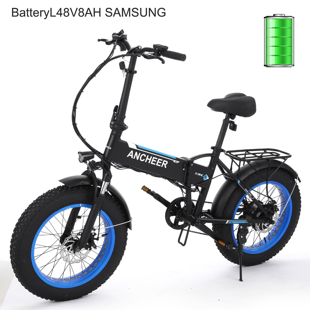 ancheer 20 250w electric bike foldable e bike 6 speed. Black Bedroom Furniture Sets. Home Design Ideas