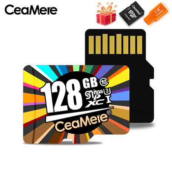 CeaMere Memory Card 256GB 128GB 64GB U3 UHS-3 32GB Micro SD Card Class 10 UHS-1 Flash card Memory Microsd TF / SD Cards for Tablet 1