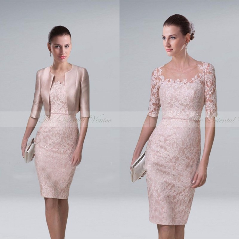 Mother of The Bride Short Dresses with Jackets Promotion-Shop for ...
