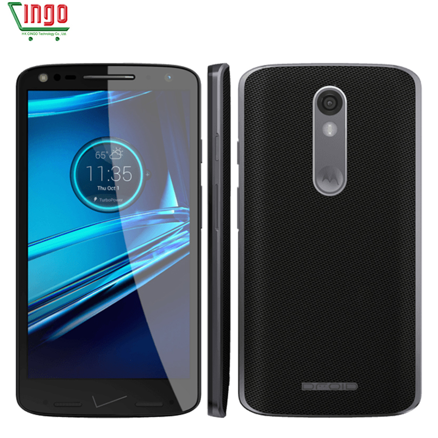 "Unlocked Motorola DROID turbo 2 XT1585 5.4"" 3GB RAM 32GB ROM Snapdragon810 4G LTE Mobile Phone 21MP 2560x1440 64bit Phone"