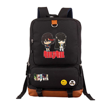 Купить с кэшбэком anime Akame ga KILL Backpack men women Canvas Shoulder School Bag Travel Bags Daypack Mochila Printed Backpack