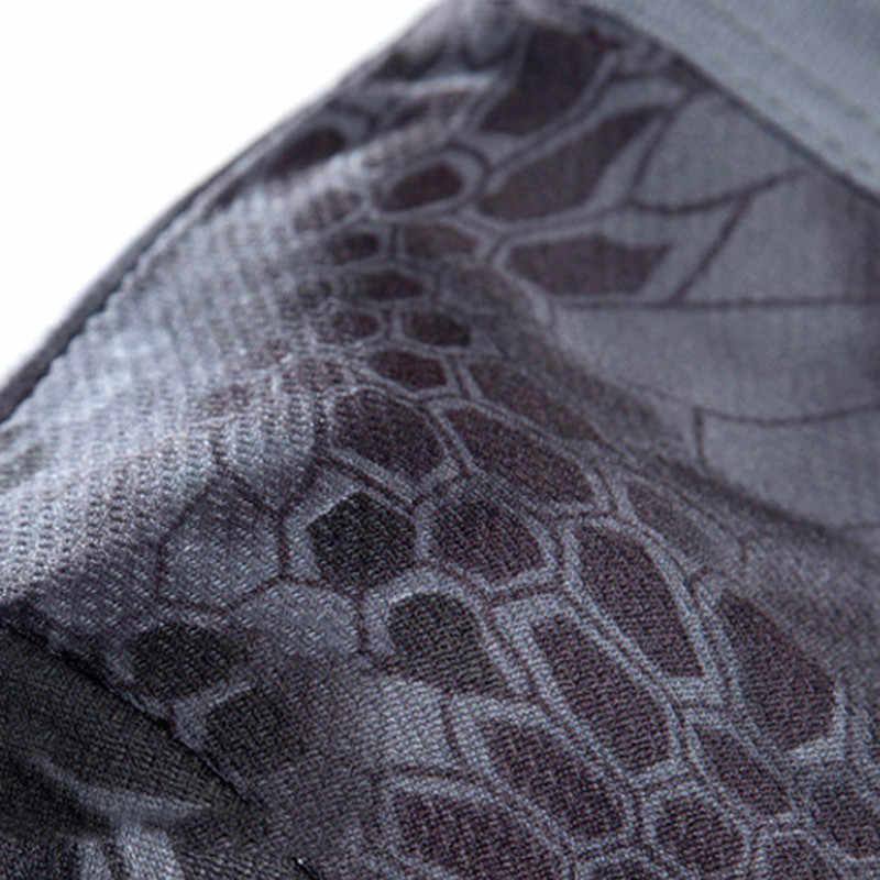 Camouflage เสื้อยืด Quick DRY Breathable Tights กองทัพยุทธวิธีเสื้อยืด Mens T Shirt ฟิตเนสฤดูร้อนกลางแจ้งใหม่