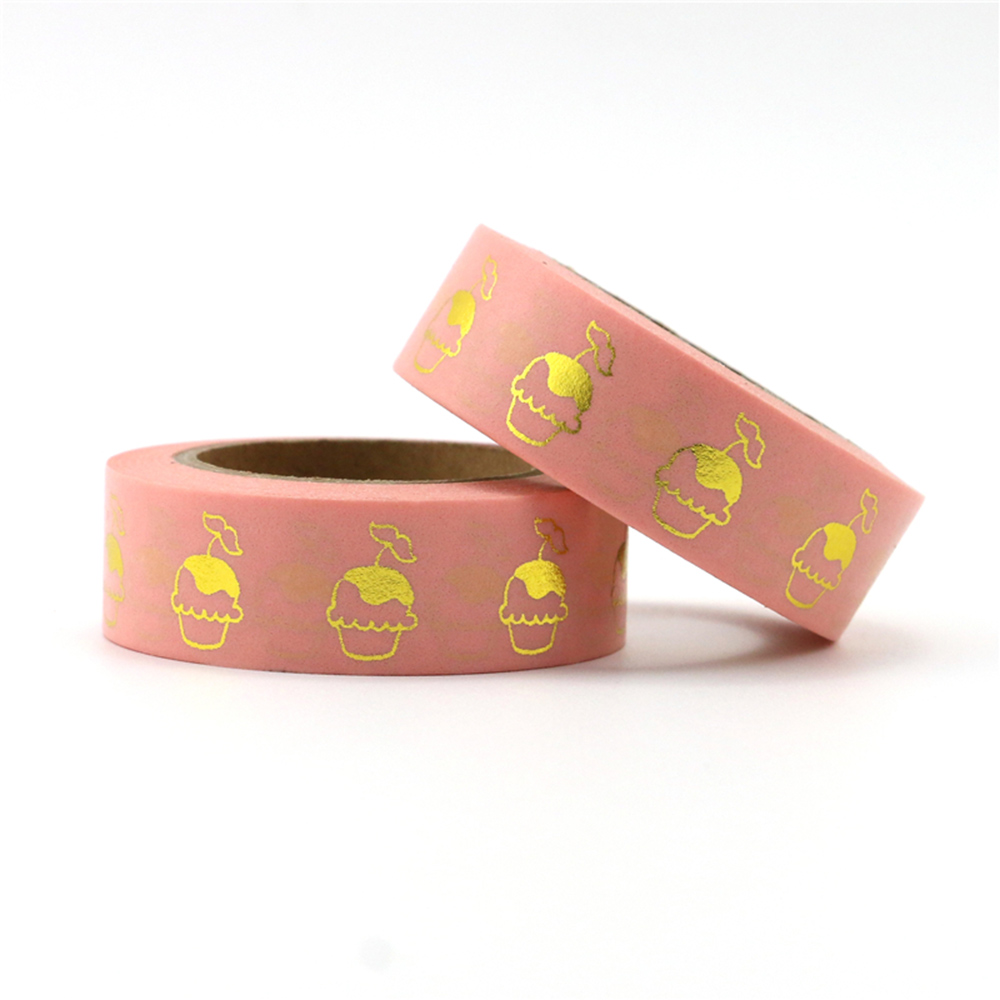 1pcs Tea Time Tea Drink Donut Cake Pastry Food Decorative Washi Tape DIY Planner Scrapbooking Masking Tape