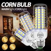 Bombilla Led GU10 de mazorca de maíz, E14, 220V, luz Led tipo vela de araña E27, 3W, 5W, 7W, 9W, 12W, 15W, B22, SMD 5730