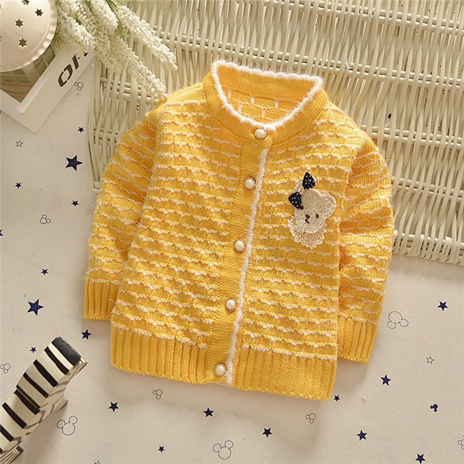 2017 Autumn and Spring New Baby Girls Cardigan Sweater Children Sweater kid Cardigan Girls Jacket Children Clothing#Z1344B