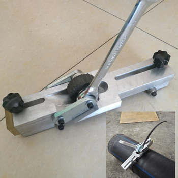 PE pipe edger, ring cleaner, Pe pipe gas pipe hot-melt welding ring cutter knife Pe tube cleaner tube remover