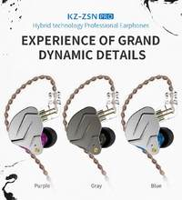 DSstyles ZSN Pro Quad-core Moving Double Circle Bass In-ear Wireless Earphone Noise Canceling Earphone For Smart Phone(China)