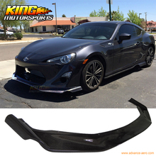 For 13-16 Scion FRS GT86 2Dr Front Bumper Lip – Carbon Fiber