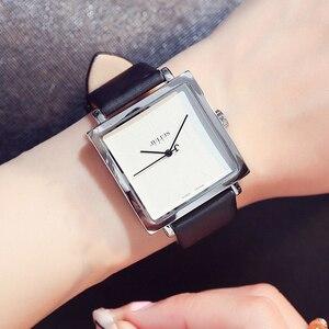 Image 4 - Julius ブランドシンプルなダイヤル革の腕時計の女性ヴィンテージ防水クォーツ時計ドレス腕時計女性 Montre のファムギフト