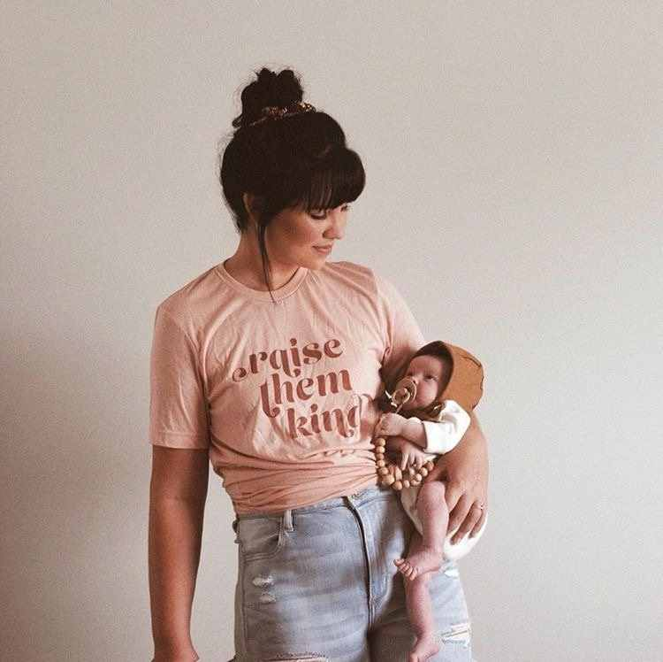 5f7fb0502 ... 2019 Raise Them Kind Funny Mom's Tees Summer Graphic Cotton Women Tops Vintage  Style Plus Size. RELATED PRODUCTS. 2018 Summer All Riled Up ...
