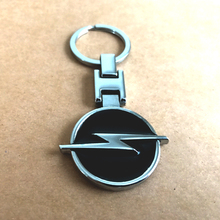 High quality metal car emblem key ring for OPEL astra j g insignia corsa d vectra c zafira a keychain accessories