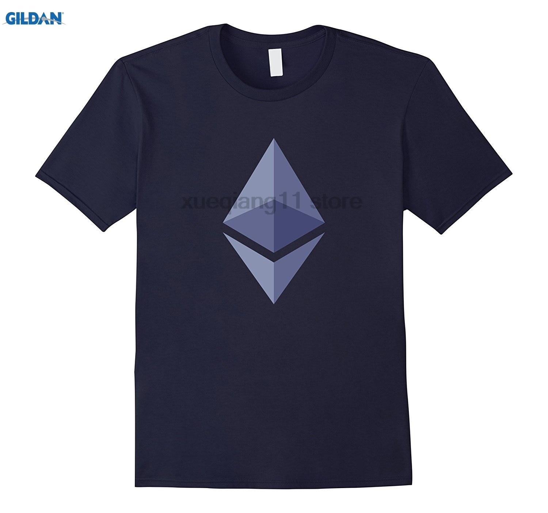 GILDAN Mens Ethereum Ether Love - Bitcoin