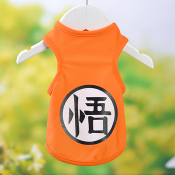 Pet Dog Clothes Summer T Shirt Vest Sports Costume Yorkshire Chihuahua Puppy Pet Dog Clothing Cool Summer Cat Dog Shirt Vest 35