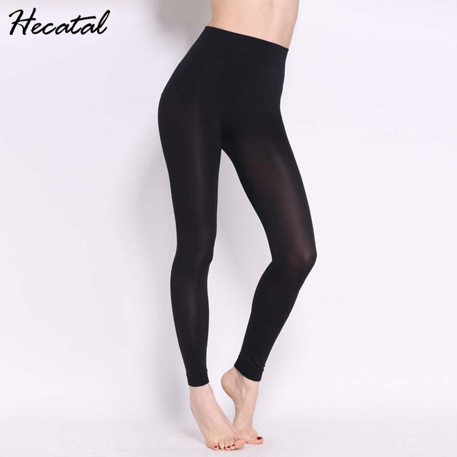 f1ec044f6a5f9 Hecatal 2018 Black Quick Dry Women Fitness Yoga Pants High Elastic Sexy  Breathable Athletic Leggings Running Jogging Trousers