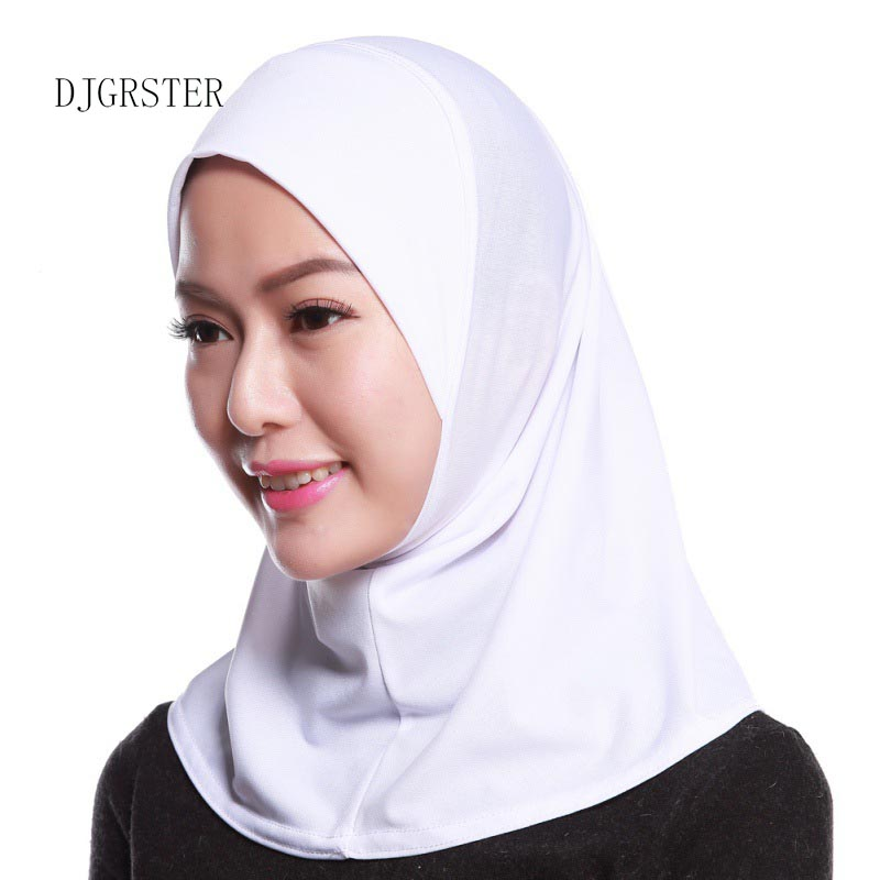 Novelty & Special Use Djgrster Soft Stretchble Muslim Sport Inner Hijab Caps Islamic Underscarf Hats Crossover Classic Style Hijab Headwear Full Cover Islamic Clothing