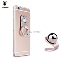 Baseus Car Phone Holder Finger Ring Magnetic Grip Mount Stand Smartphone Accessories Steering-wheel Desk Tablet for iphone sony