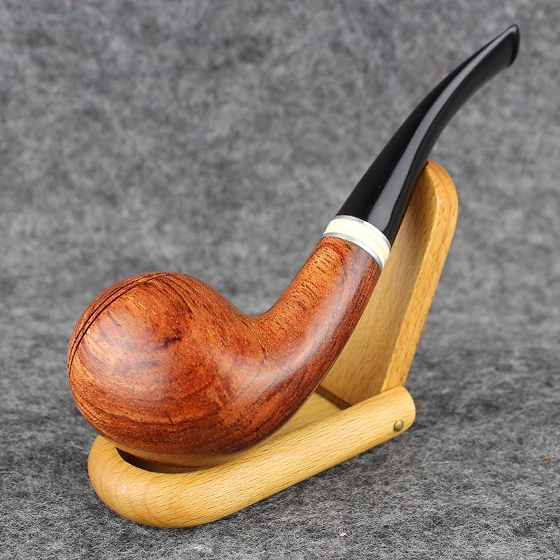 Smoking Rose Wood Tobacco Pipe 9mm Filter Handmade 2