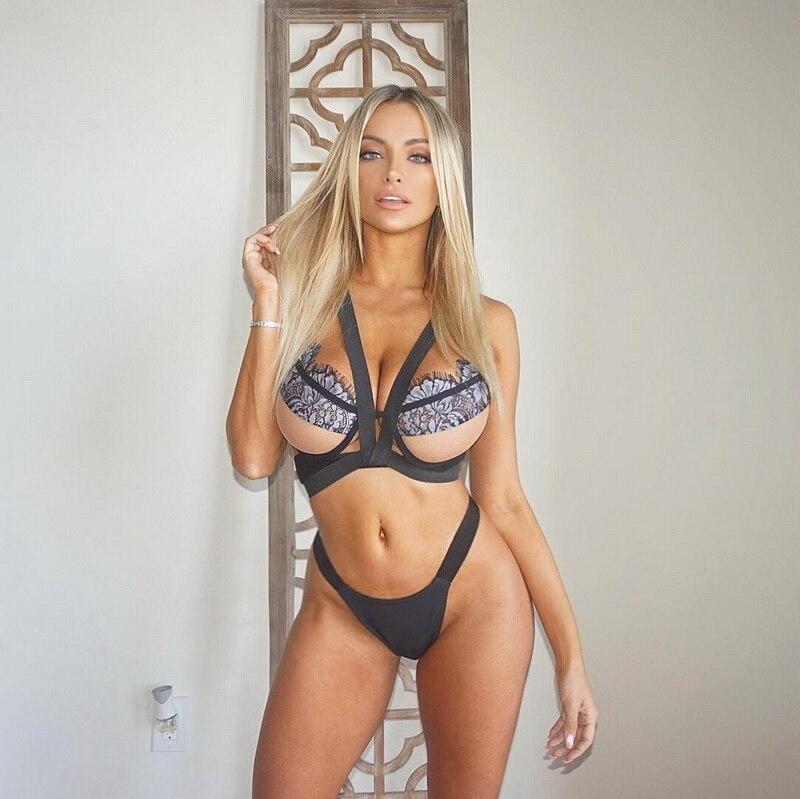 Femmes Sexy sous-vêtements creux argent soie