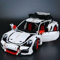 LEPIN 20001B 2758Pcs New Technic Series Classic 911 GT3 R3 Race Car 42056 Educational Building Bricks