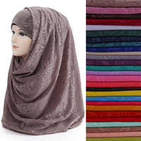 10pcs/lot Flower Print Pearl Bubble Chiffon Women's Muslim Hijab Scarf Shawl Wrap Head Wear