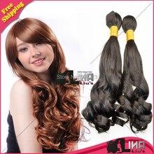 Double Drawn 6A Nigerian Aunty Funmi Hair Unprocessed Peruvian Virgin Spiral Curls Human hair 3 bundles, Bouncy Curls 3pcs
