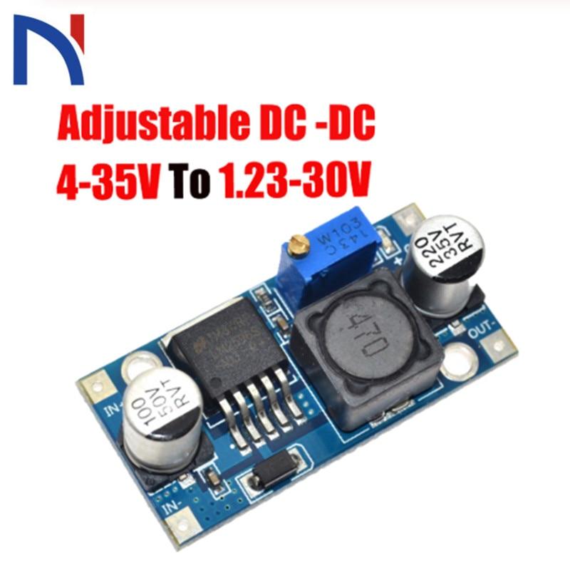 Max 1x Adjustable Buck Voltage Regulator Power LM2596 Module DC-DC 3A