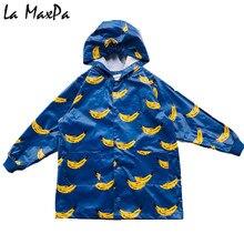 hot deal buy 90-140cm cute cartoon spring children raincoat autumn kids waterproof jacket boys outerwear coats girls windbreaker for baby