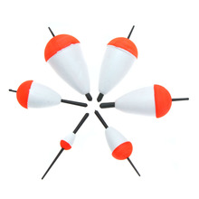 6Pcs Polystyrene Fishing Floats Set Professional Sea Boat Fish Float Buoy with Sticks Fishing Tackle Pesca