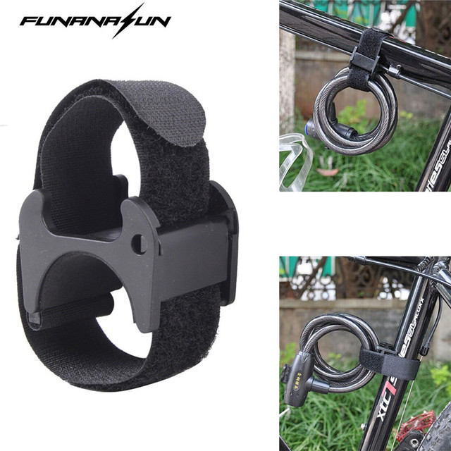 Bike Flashlight Strap Mount Led Tourch Clip Clamp Magic Band Lockblock Mountain Bicycle Helmet LED Holder Universal
