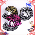 Fashion Luxurious Cap Snapback Format Hip-Hop Lips Printed Baseball Cap With MDIV Graffiti Embroideried Free Shipping